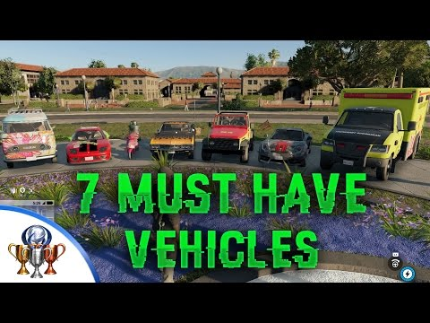 Watch Dogs 2 Unique Vehicle Showcase - The 7 Best Vehicles You Must Get in Watch Dogs 2