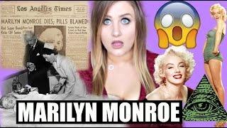 MARILYN  MONROE CONSPIRACY THEORIES! CELEBRITY CONSPIRACIES