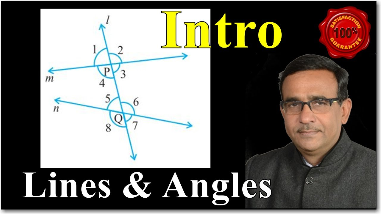 Class 9 Maths Lines and Angles Introduction