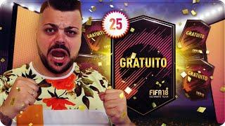 FIFA MI REGALA 25 PACCHETTI SPECIALI !!! PACK OPENING [FIFA 18]