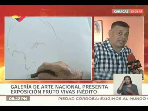 GAN presentó exposición Fruto Vivas inédito: Clemente Martínez explica