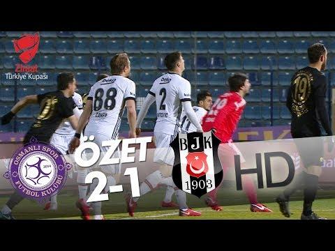 Osmanlıspor - Beşiktaş Maç Özeti