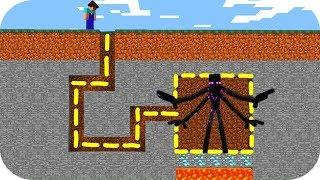 НУБ ЗАТРОЛЛЕН НЕВИДИМЫМ СЕКРЕТ МОНСТРОМ ~ 100% ТРОЛЛИНГ НУБА В МАЙНКРАФТ! Мультик Minecraft
