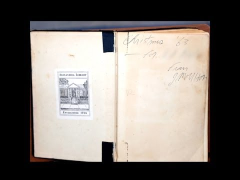 """Appraisal: 1963 Jim Morrison Inscribed Book, """"The History of Magic"""""""