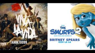 Coldplay vs. Britney Spears - Viva Ooh La La Vida (Flipped) (Mashup Mix)