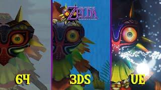 Zelda Majora's Mask Opening Comparison: 64 vs 3DS vs PC (fan-made)