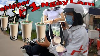 1 Day Challenge To Make Free Shipper Ship Milk Tea For 10 Friends