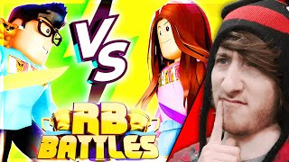 I FOUND THE NEXT RB BATTLES SWORD - HYPER VS CARI | Ready Player Two Event | 🔴 Roblox LIVE #ad