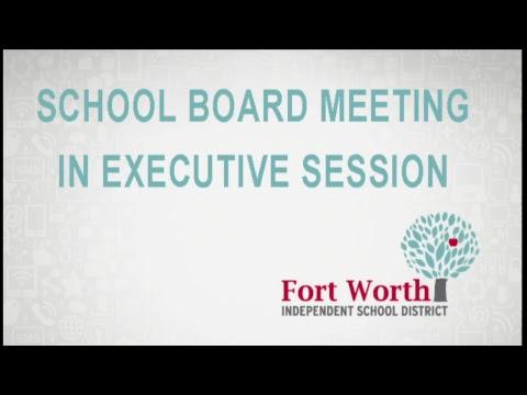 FWISD School Board Meeting 12-11-18