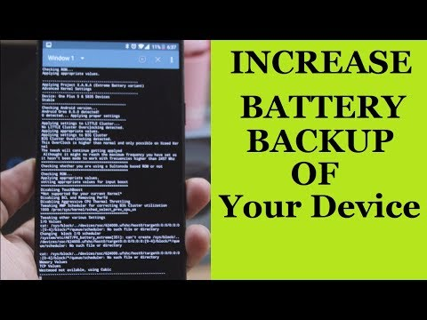 How To Get Good Battery Backup On Your Device!!!! ROOT | AKT |