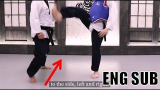 사이드 스텝을 격투기에서 사용하는 법!_ 실전태권도 스텝 12편