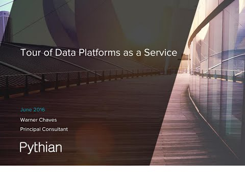 Tour of Database Platforms as a Service - Warner Chaves @ Cloud Expo June 2016