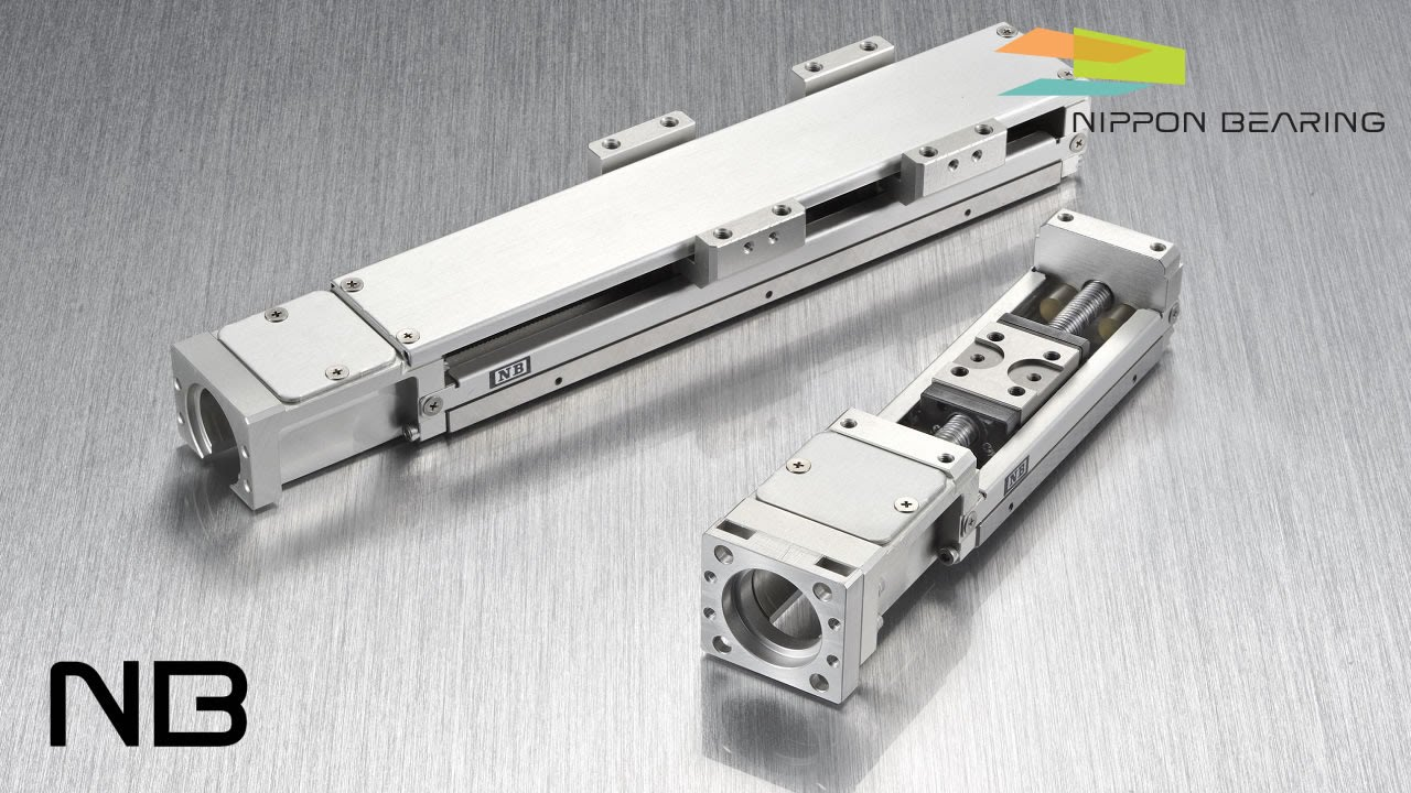 Precision linear stage nb linear actuator bg type for Types of linear motors