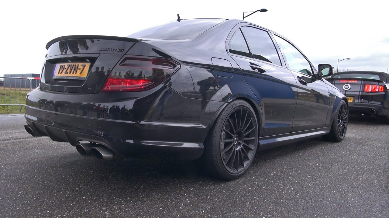 mercedes benz c63 amg w loud ipe exhaust youtube. Black Bedroom Furniture Sets. Home Design Ideas