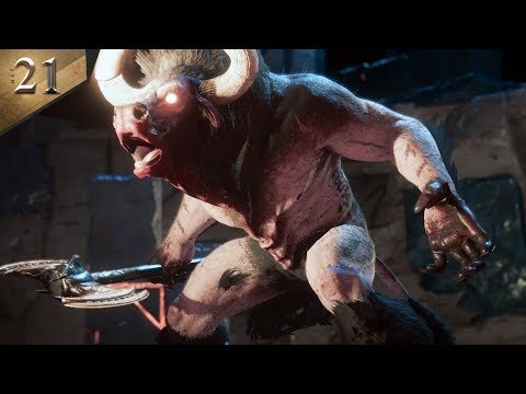 MINOTAUR BOSS FIGHT - Assassin's Creed Odyssey Part 21 thumbnail