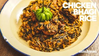 Chicken Bhagi Rice - Easy One Pot Recipe