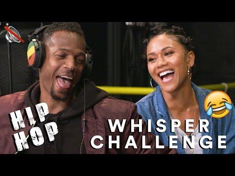 Hip Hop Whisper Challenge w Marlon Wayans