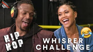 Hip Hop Whisper Challenge w/ Marlon Wayans