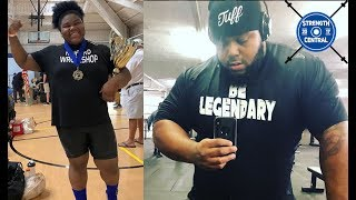 LOTW (July 2019) 15 y/o Girl Benches 400 lbs, Maddox Takes 630 lbs For A Set Of 5 On The Bench