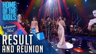 LYODRA X TIARA X NOAH - JALANI MIMPI - RESULT & REUNION - Indonesian Idol 2020