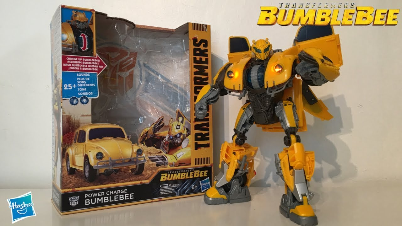 Bumblebee Charge Bumblebee Power Transformers Transformers Review droWCxBe