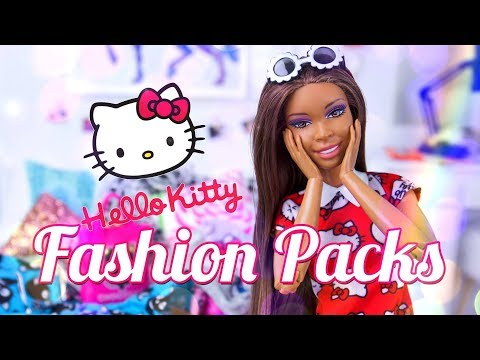 Unbox Daily:  Barbie Hello Kitty Fashion Packs | Chococat | My Melody