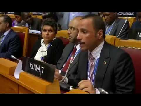 Kuwait's PM, expelled the Israeli delegation from the meeting of the Inter-Parliamentary Union.