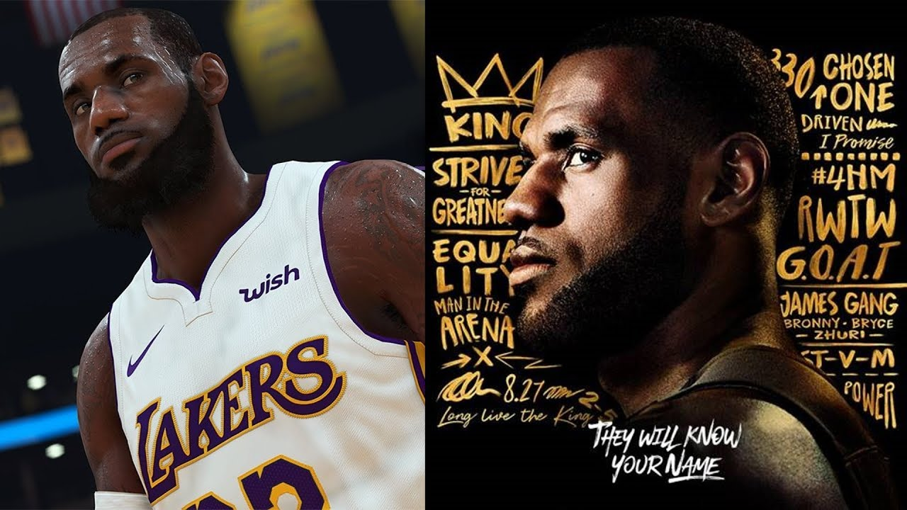 18b8133fcf4 NBA 2K19 LeBron James 1st Screenshot and Rating! - YouTube