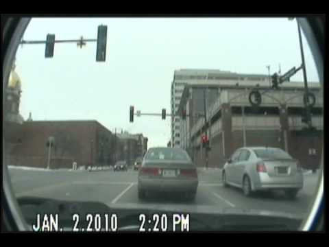 Dashcam Timelapse Kansas City Metropolitan Area Saturday 2 January 2010