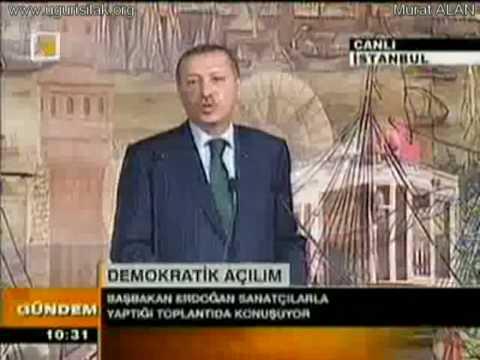 Başbakan Recep Tayyip Erdoğan Uğur Işılak Eseri Haydi Anadolu'yu örnek Gösterdi