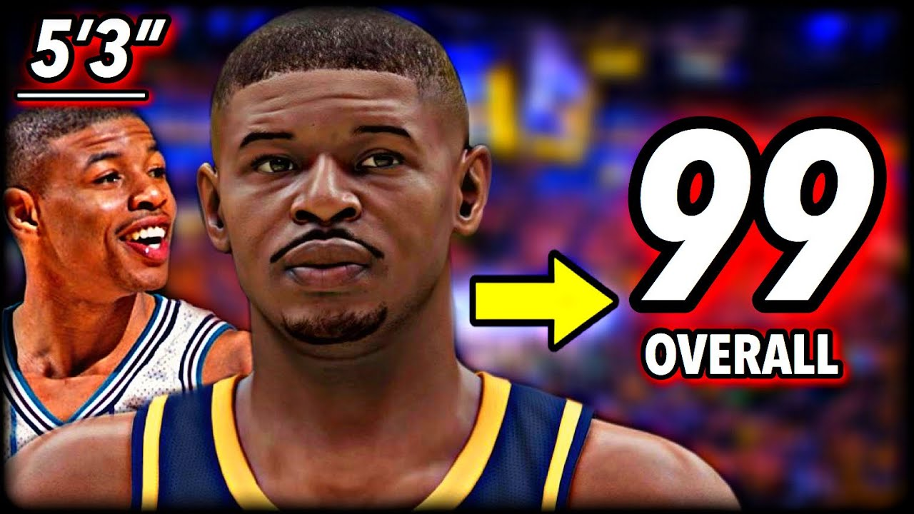 """I Made 5'3"""" MUGGSY BOGUES a 99 OVERALL… and he became the GOAT."""
