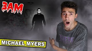 (MICHAEL CAME) DO NOT WATCH HALLOWEEN MOVIE AT 3AM! MICHAEL MYERS CAME TO MY HOUSE *GONE WRONG*