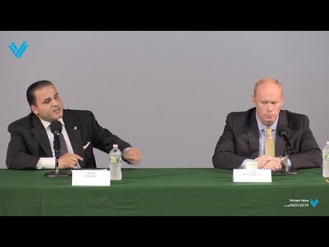 Liam McLaughlin vs Mike Khader Debate at Sarah Lawrence College