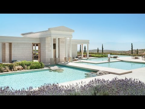 AMANZOE: BEST LUXURY RESORT IN GREECE (PHENOMENAL!)