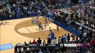 Memphis Tigers vs. Connecticut Huskies - February 15, 2014