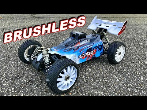 1/8 RC Car GPS Speed Test - ZD Racing 9072 Pirates 2 Brushless Buggy - TheRcSaylors