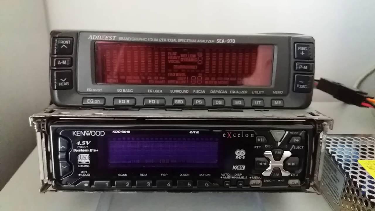 Kenwood Kdc X915 Amp Addzest Sea 970