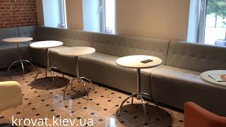 Диваны для кафе с утяжками на заказ(, 2017-07-14T12:57:34.000Z)