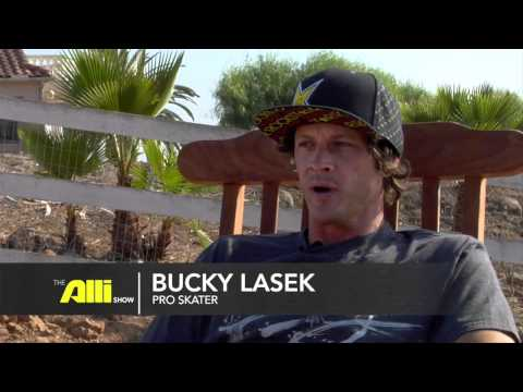 "Bucky Lasek and more - Bucky's Bowl, San Diego Skateboarding - ""The Alli Show: Skate"""