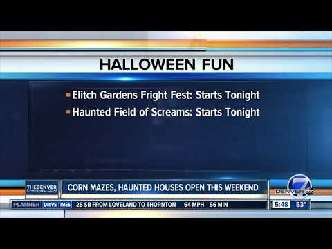 More corn mazes, haunted houses open this week