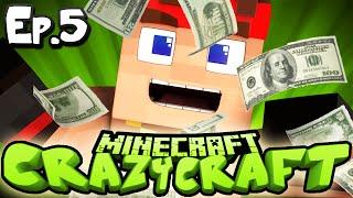 Minecraft  CRAZY CRAFT 3.0 | Ep 5 : MAKE IT RAIN! (Crazy Craft Modded Survival)