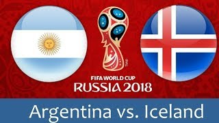 Argentina vs iceland football game hd live stream! world cup 2018