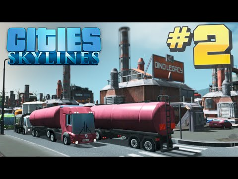 Cities Skylines #2: HOW TO OIL INDUSTRY - Maximizing NON-Ren