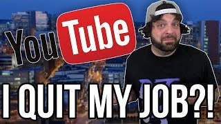I Quit My JOB for YouTube Fulltime! - Channel Update! | RGT 85