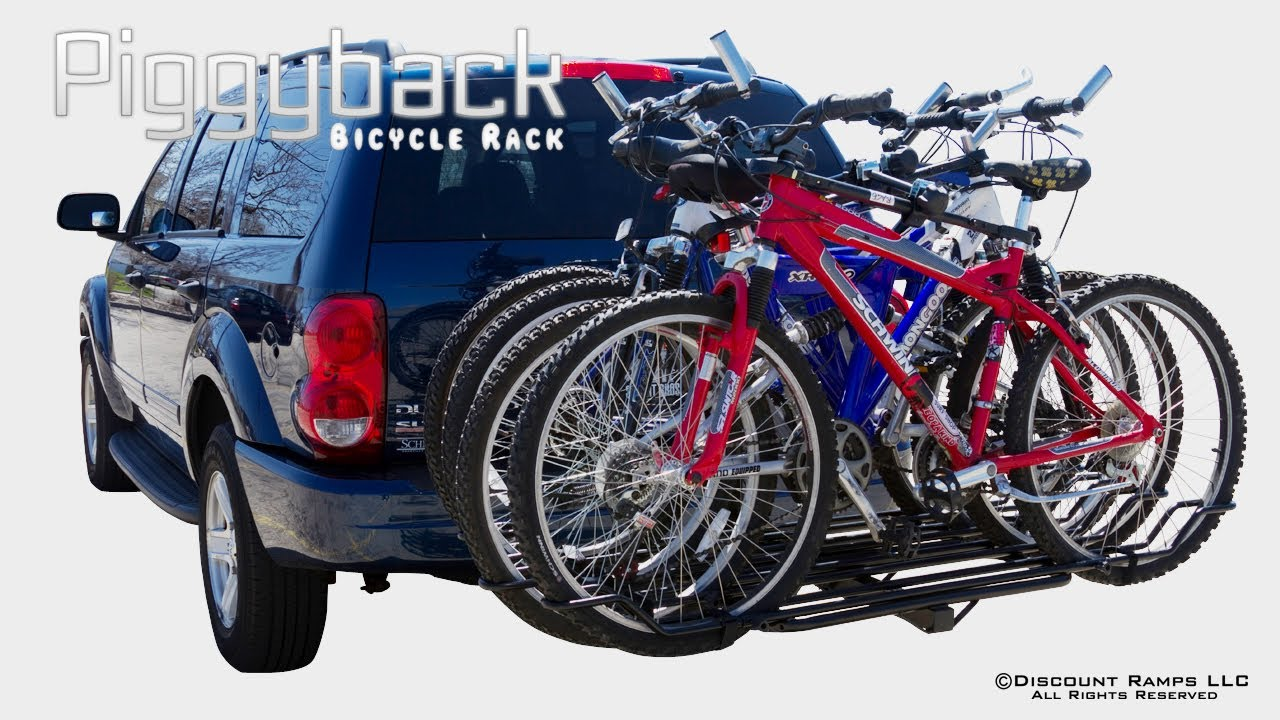 Bc 08581 2a 2ext Piggyback Bicycle Rack Installation Youtube