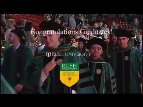 2017 Rush University Commencement