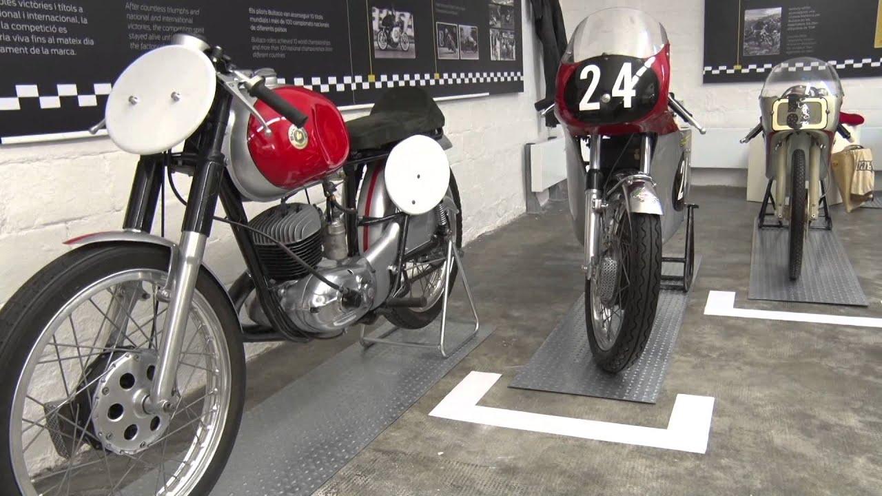 motos garage tv exposicin monogrfica bultaco museu moto bcn