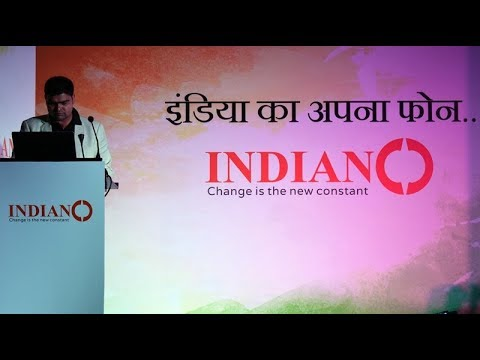 IndianO- Indian mobile manufacturing company launches four phones | CEO SM Naryan