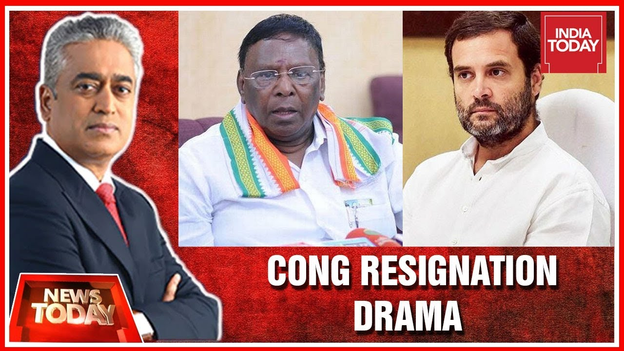 Download Only Rahul Gandhi Can Lead Congress Today : V. Narayanasamy Exclusive | News Today With Rajdeep