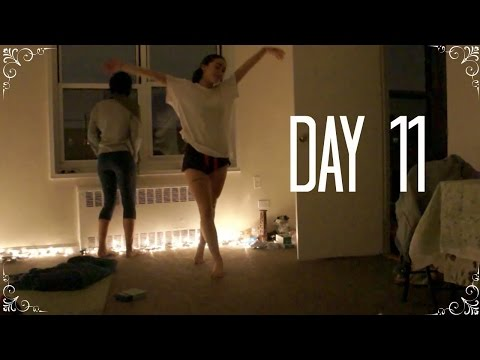 DAY 11 | Squats, Vegan Cupcake Review & Slow Dancing